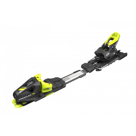 Kрепление гл FREEFLEX DEMO 14 GW BR.85[D]  matt black/whtie/flash yellow
