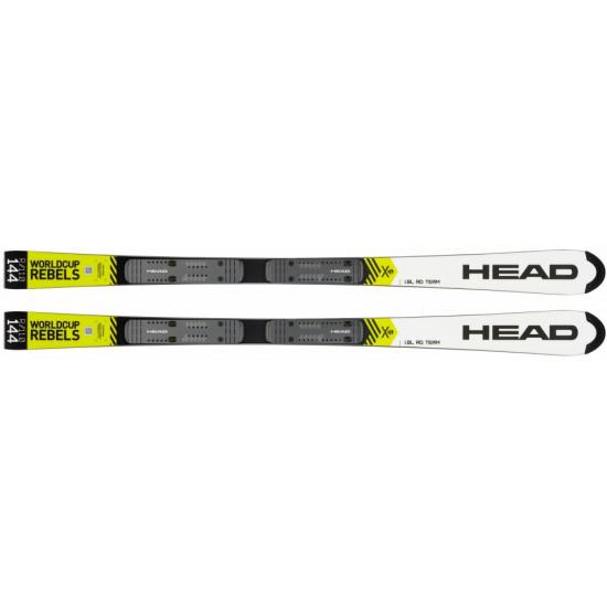 Горные лыжи WC Rebels iSL RD Team SW JRP RDX white/neon yellow