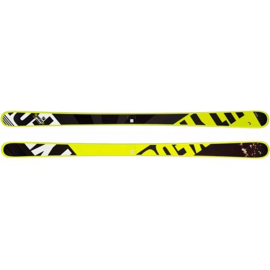 Горные лыжи Frame Wallwhite/neon yellow