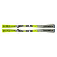 Комплект Supershape i.Speed SW MFPR + PRD 14 GW BRAKE 85 [F] (313329+100739) (горные лыжи+крепления гл) grey/neon yellow